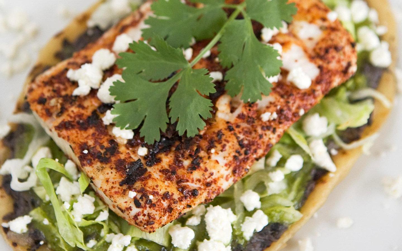 Talavera's Fresh Fish Huarache