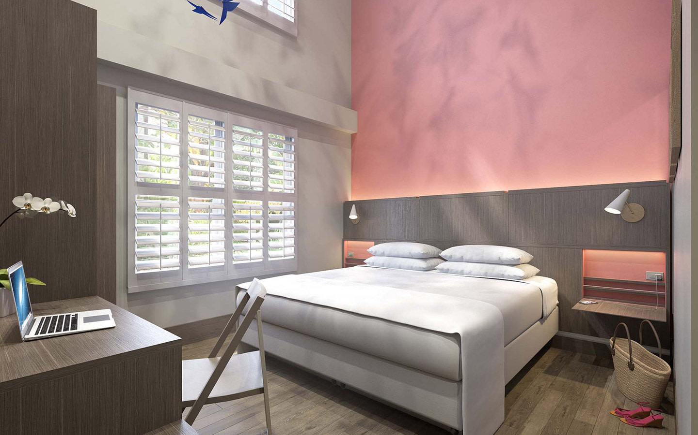 Atrium Ibis King Guestrooms