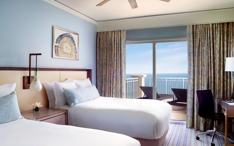 Ocean Front Double Bedded Room