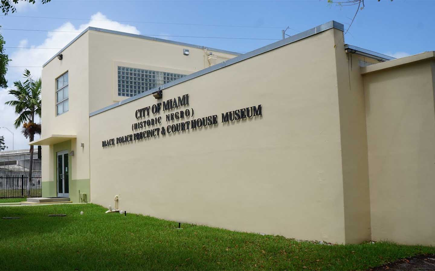 Miami's Black Police Precinct & Courthouse Museum