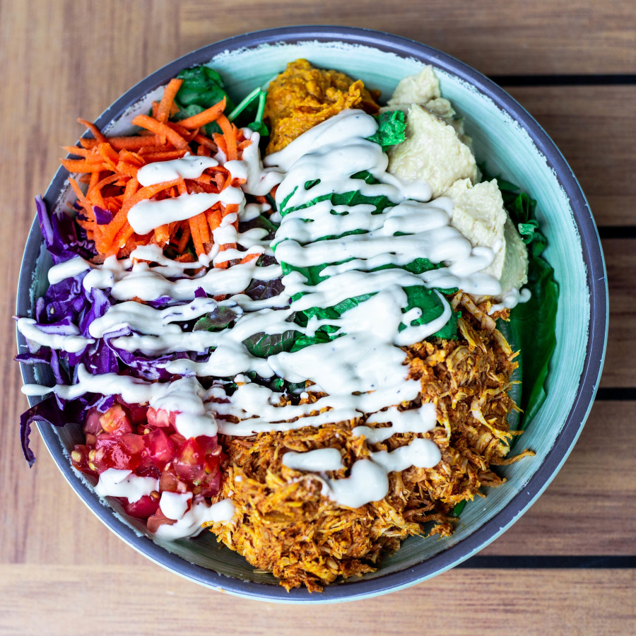 Rice Kitchen, Build Your Own Bowl