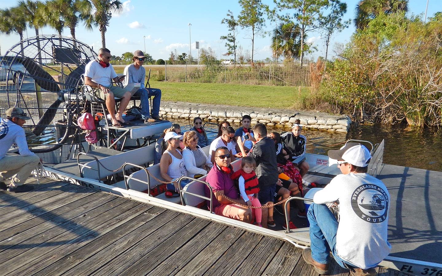 Airboat group tours