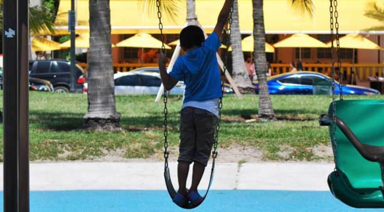 Kids love Lummus Park