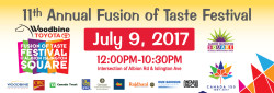 Albion Islington – Fusion of Taste Festival
