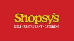 Shopsy's Deli, Restaurant & Catering