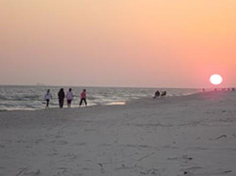 Cotton Bayou- A Gulf State Park beach area