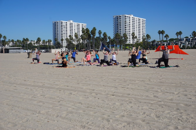 Beach Yoga SoCal