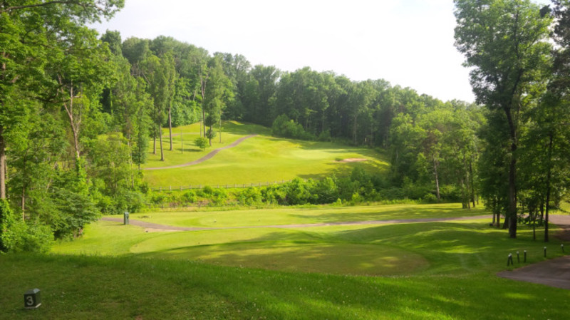 Kenny Rapier Golf Course at My Old Kentucky Home State Park