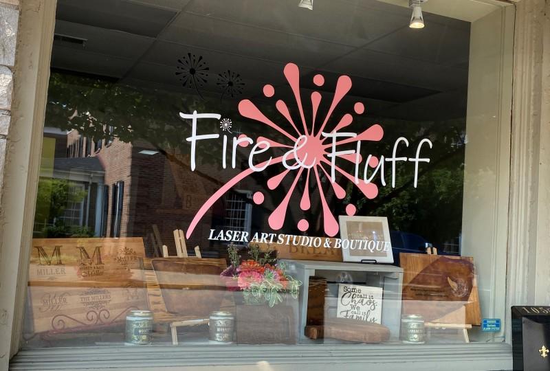 Fire & Fluff Laser Art Studio & Boutique
