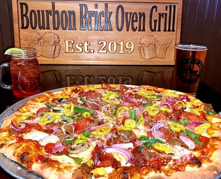 Bourbon Brick Oven Grill