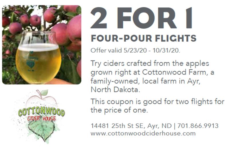 2-for-1 Four-Pour Flights