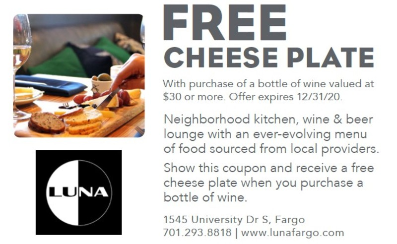 Free Cheese Plate