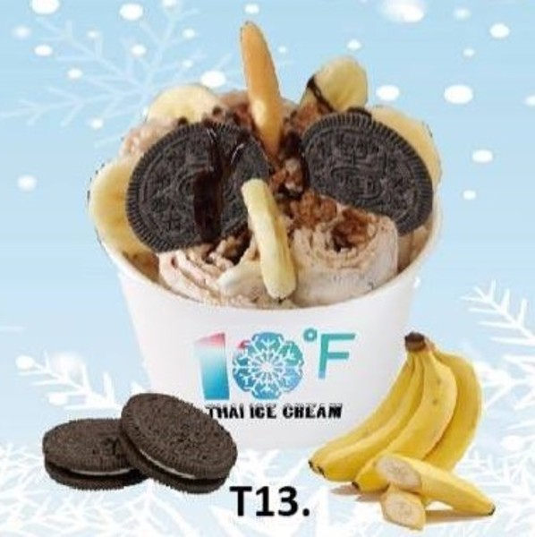 10° Below Zero - Rolled Ice Cream Featured Image