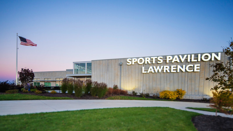 Sports Pavilion Lawrence Featured Image