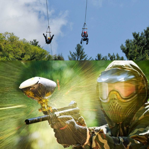 Kittatinny Zip Line & Paintball