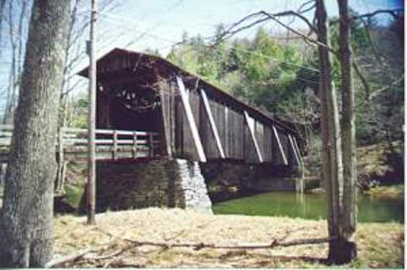 Halls Mills Covered Bridge