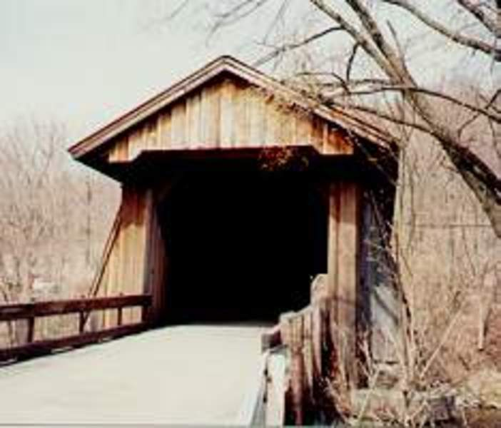 Van Tran Flat Covered Bridge