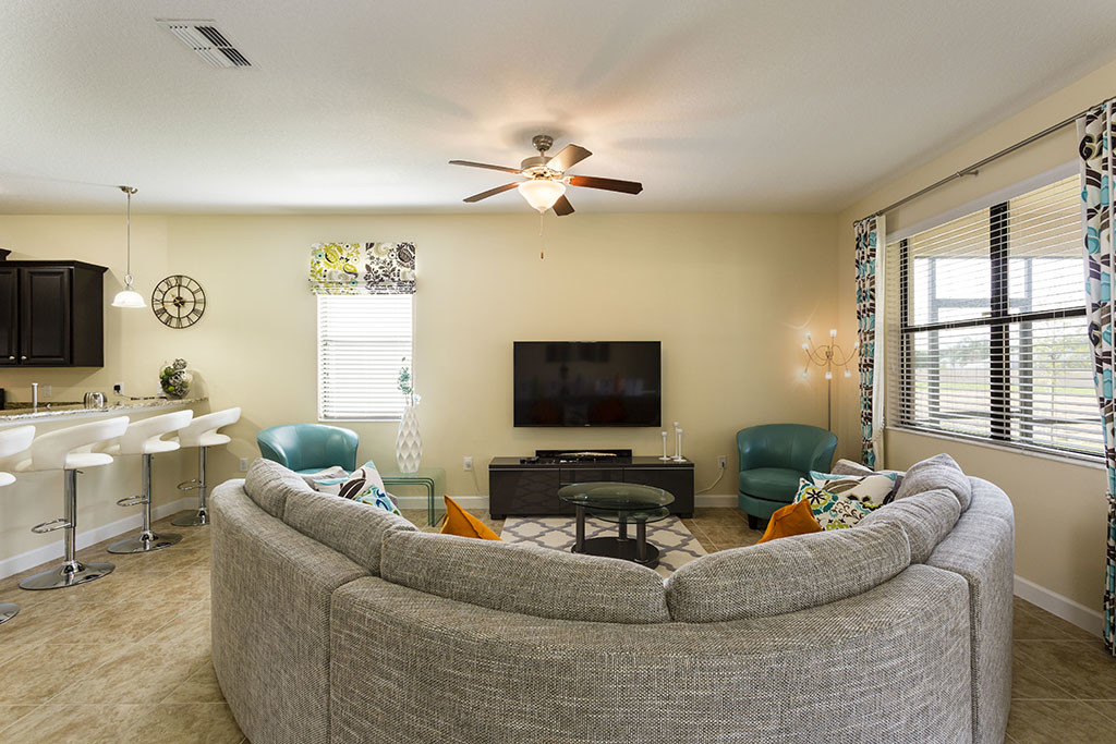 Resort Style Homes   Affordable Luxury   Living Room. Starmark Vacation Homes   Kissimmee  FL