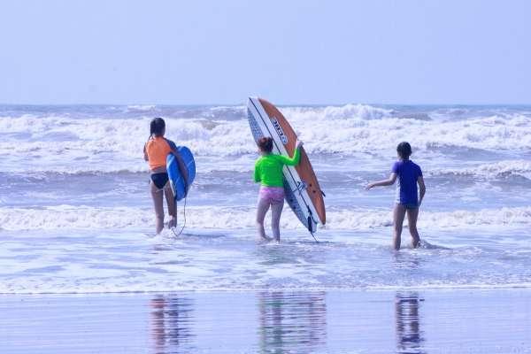 Adrenalina en las olas de Galveston