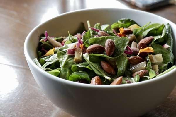 Paleo salad at Bosscat