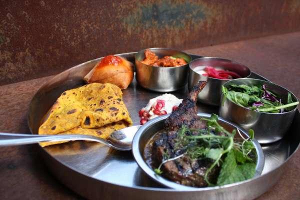 Pondicheri Indian Dish