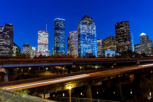 Downtown Skyline - Night