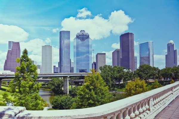 En Houston con amigos este verano