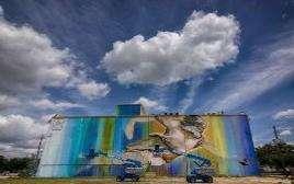 El mural más grande de Houston