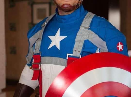 Tampa Comic Con Captain