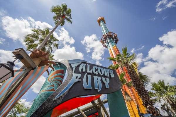 Busch Gardens' Falcon Fury