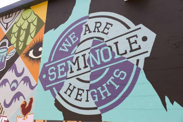 Tampa Murals: Seminole Heights