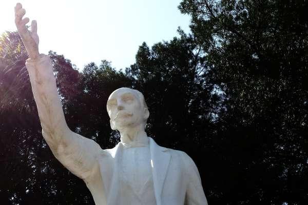 Jose Marti Park Statue