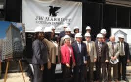 jw marriott groundbreaking