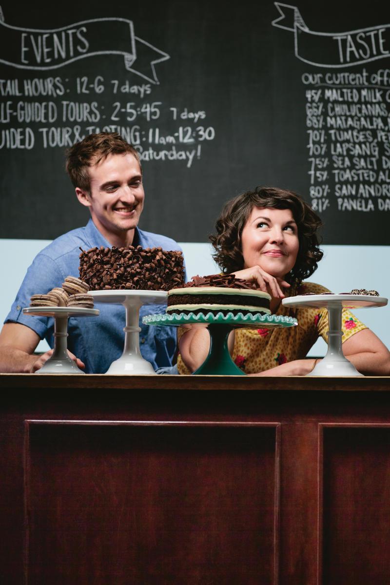 Dan and Jael Rattigan   French Broad Chocolate Lounge   Asheville ...