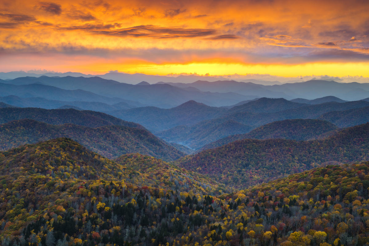 Great Smoky Mountains Asheville NCs Official Travel Site - What mountains are near me