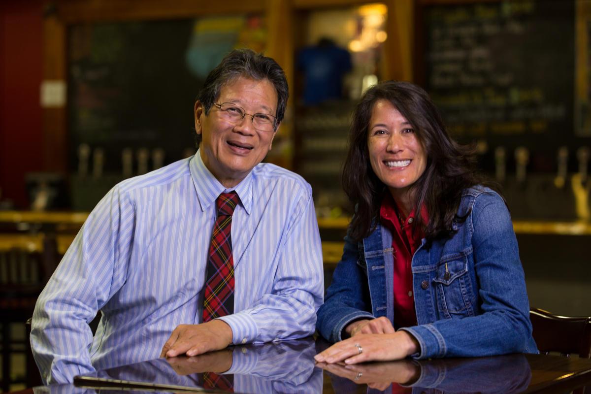 Hotels In Asheville Nc >> Oscar Wong and Leah Wong Ashburn | Highland Brewing ...