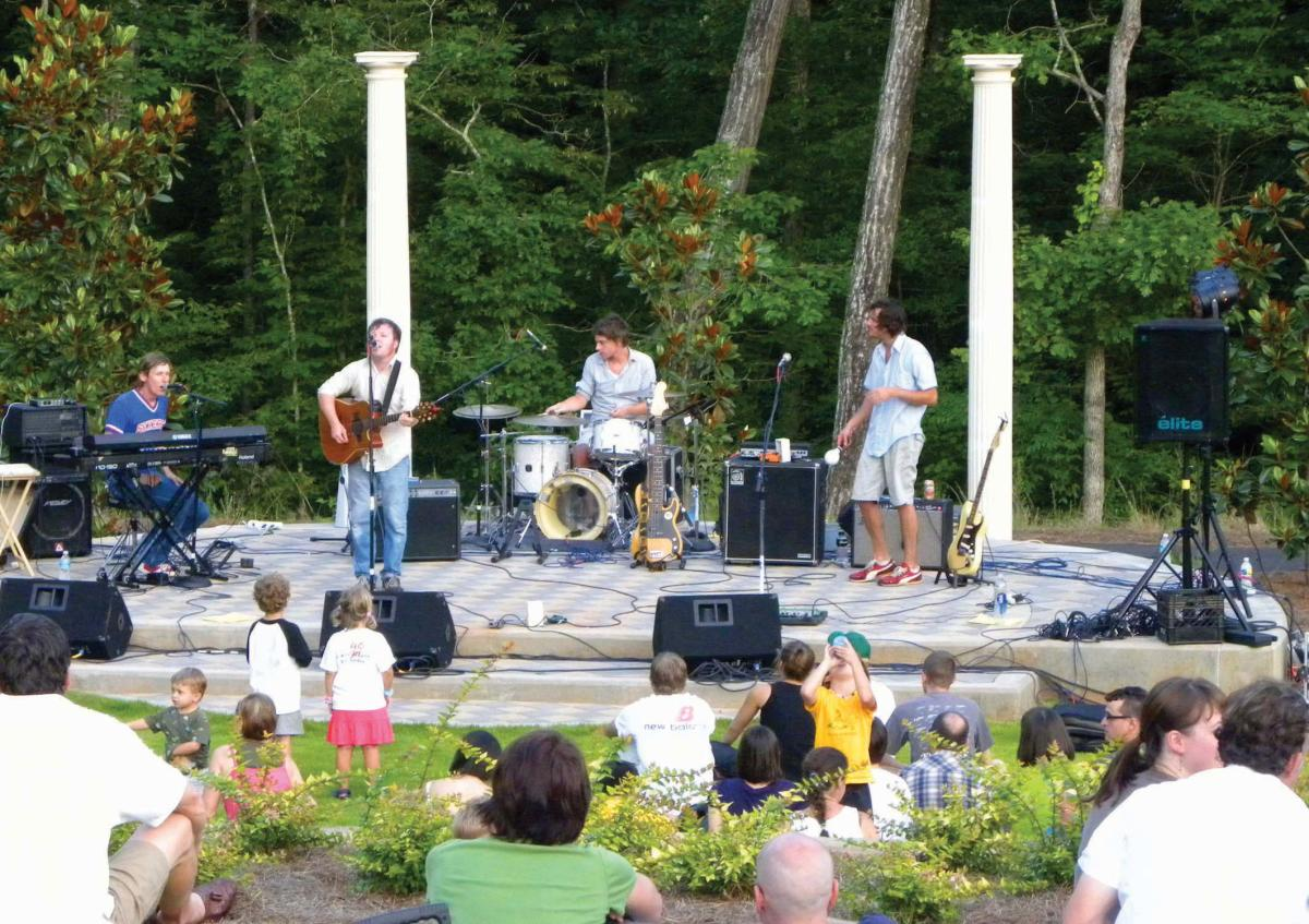 Free things to do in athens athens georgia for Botanical gardens concert series