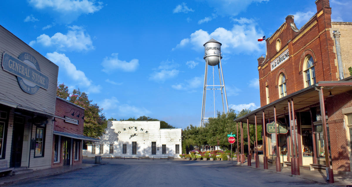 Image result for gruene texas