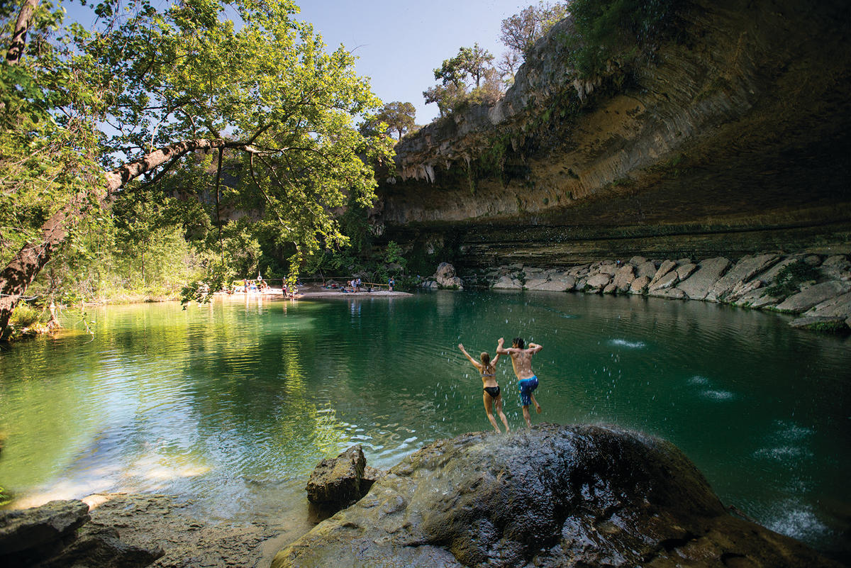 Top Swimming Holes And Splash Pads In Austin Texas