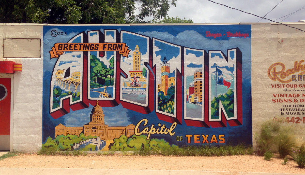 how to get from autin airport to austin convention center