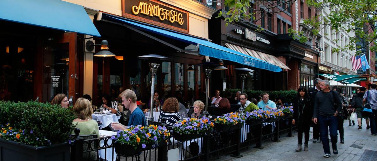 Neighborhood dining guides restaurants for Fish restaurant boston