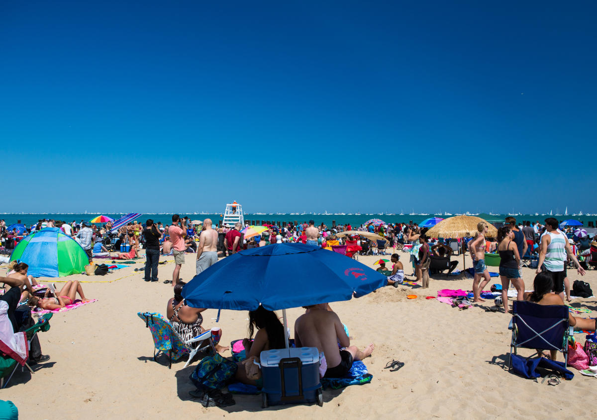Chicago Th Of July Find Holiday Events Fireworks Concerts - Chicago map north avenue beach