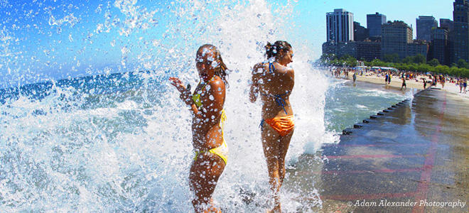 Chicago Beaches Guide To Local Beaches On Lake Michigan