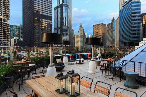 Top 8 Hotel Rooftop Bars In Chicago Lounges Amp Nightlife
