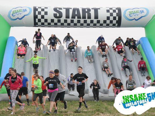 Inflatable Race Dayton Ohio
