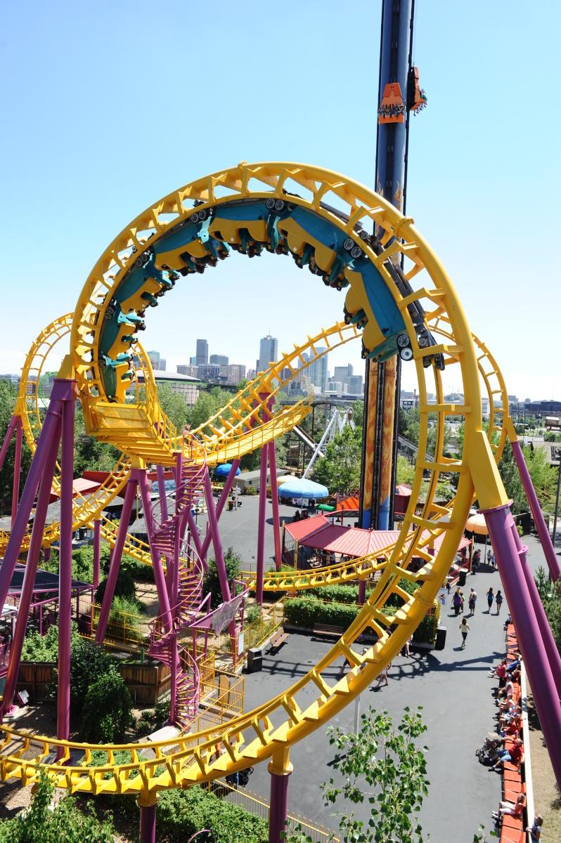 Denver Thrill Rides Amusement Parks Visit Denver
