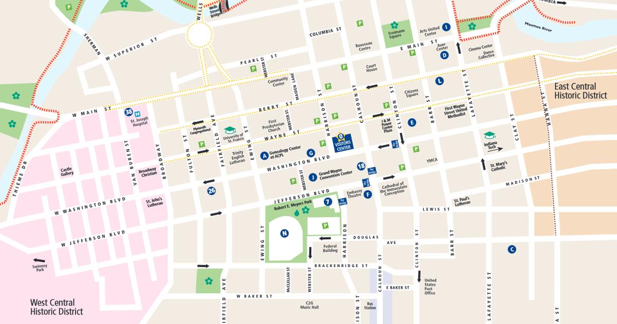 Maps | Visit Fort Wayne