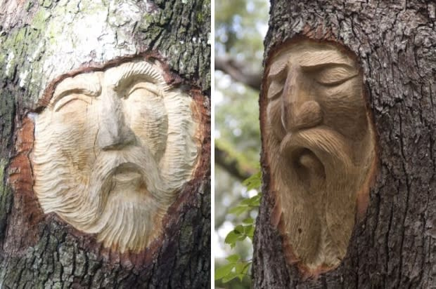 The St Simons Island Tree Spirit Legend
