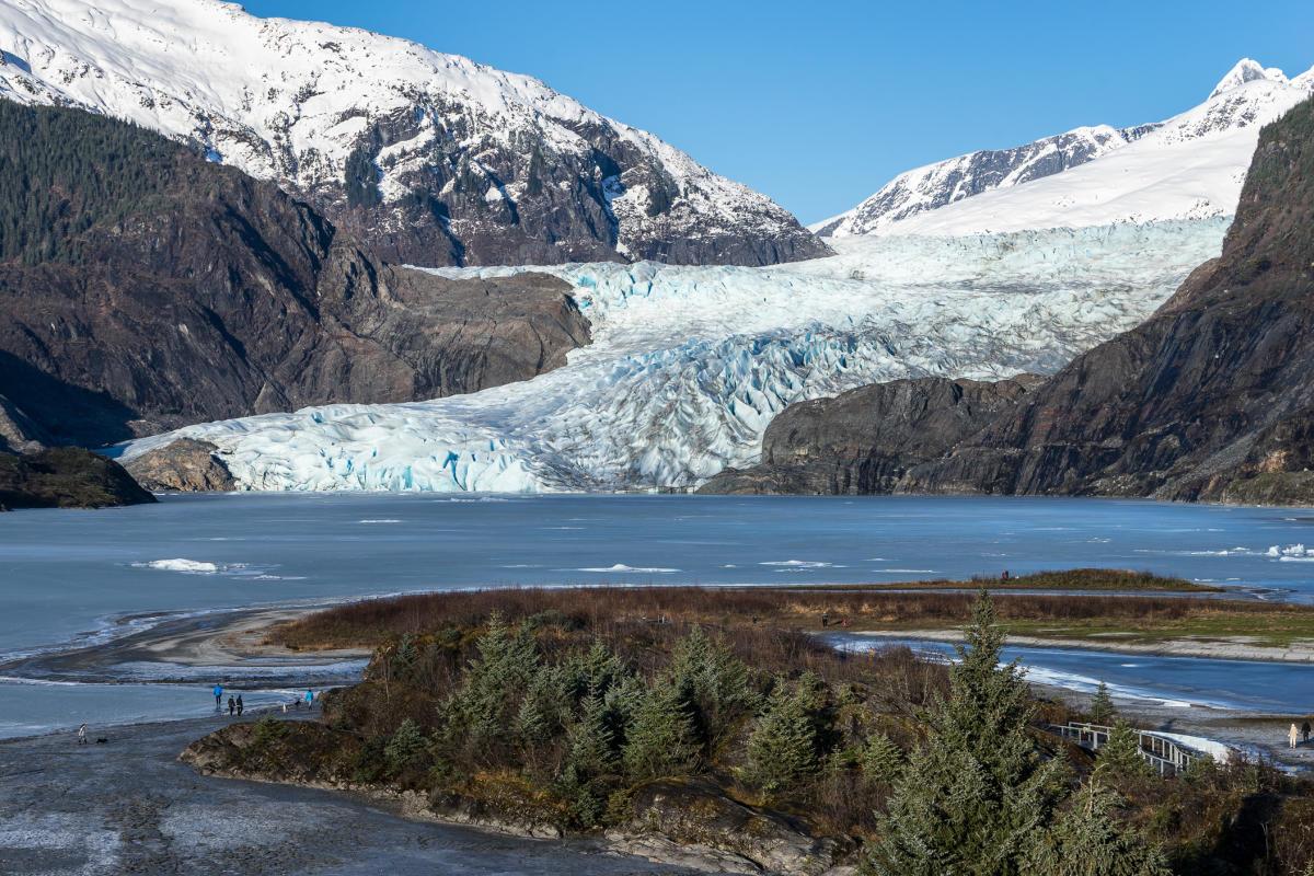 Mendenhall Glacier Mendenhall Glacier Juneau Ak
