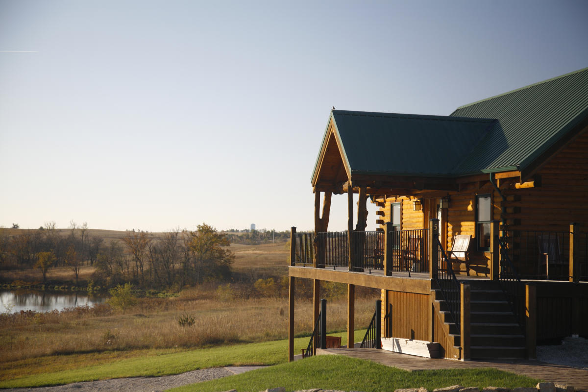 Cabins Amp Lodges In Kansas Ranches Resorts Amp Rv Parks